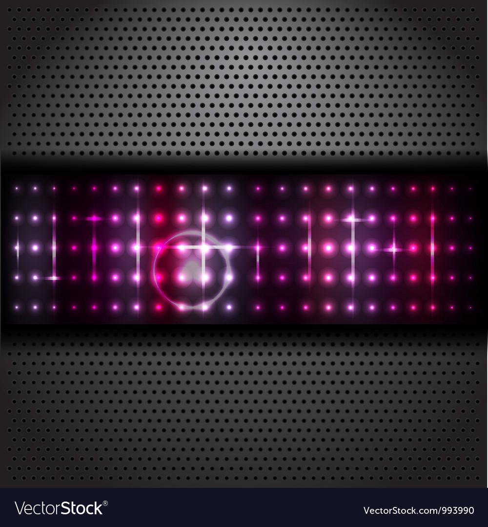 Black texture background vector image