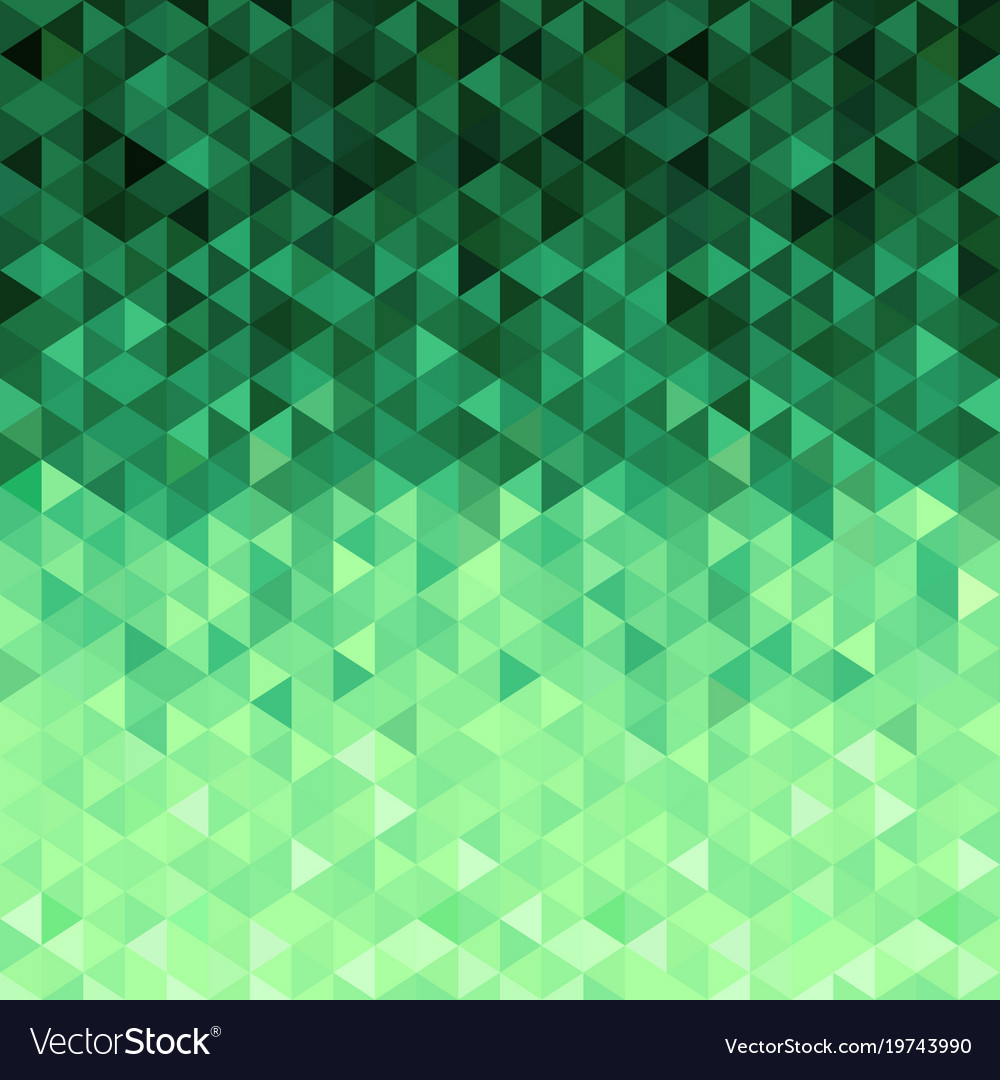 Green Crystals Background