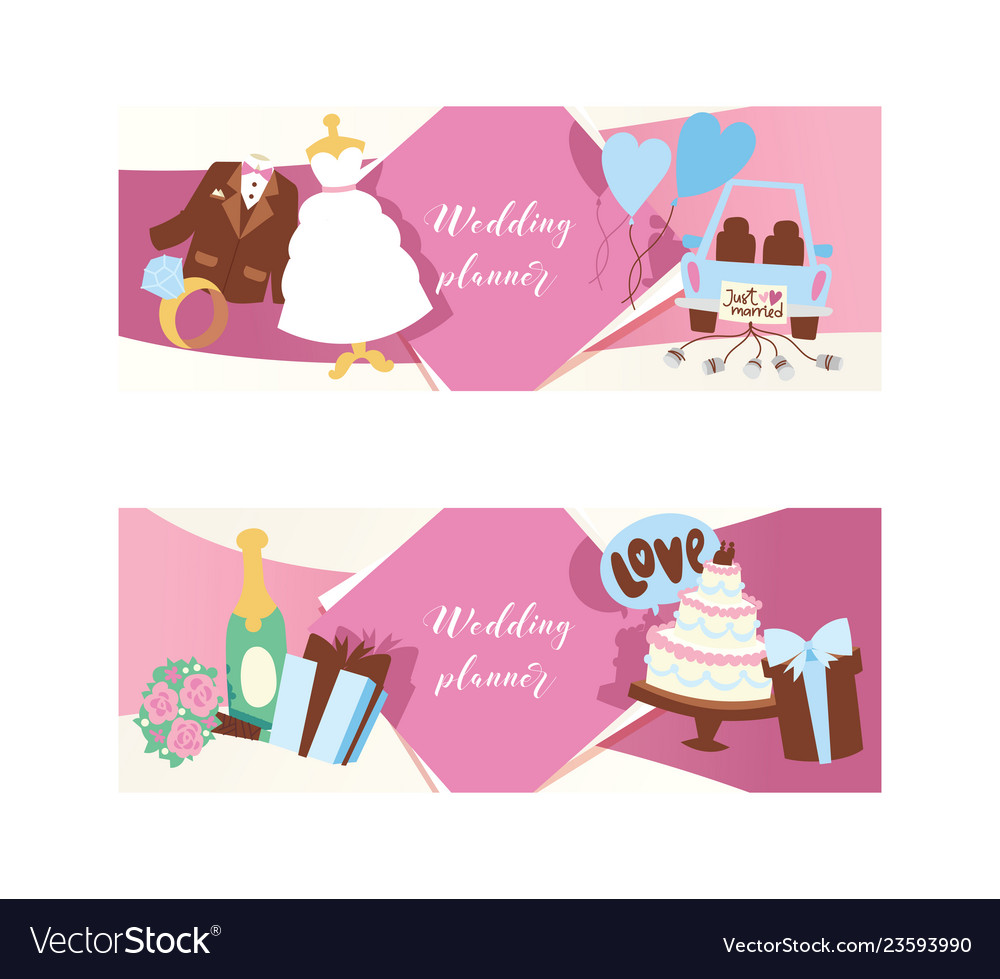 Wedding day party for just married couple