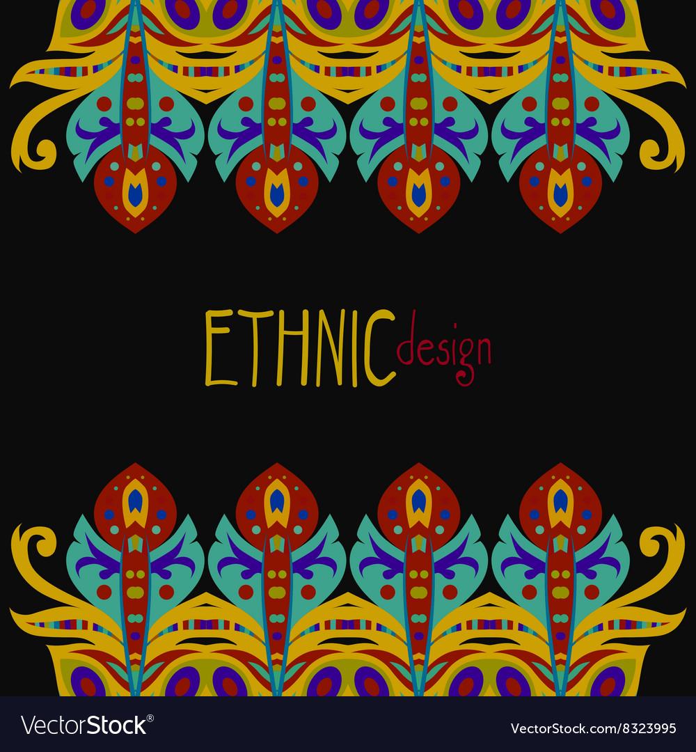 Horizontal ethnic african template