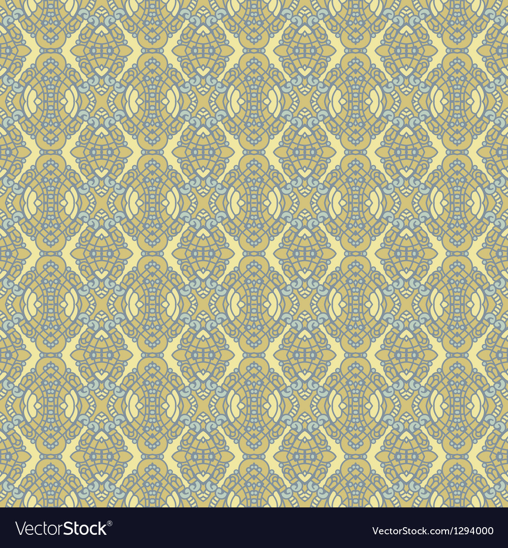 Seamless Colorful Retro Pattern Background