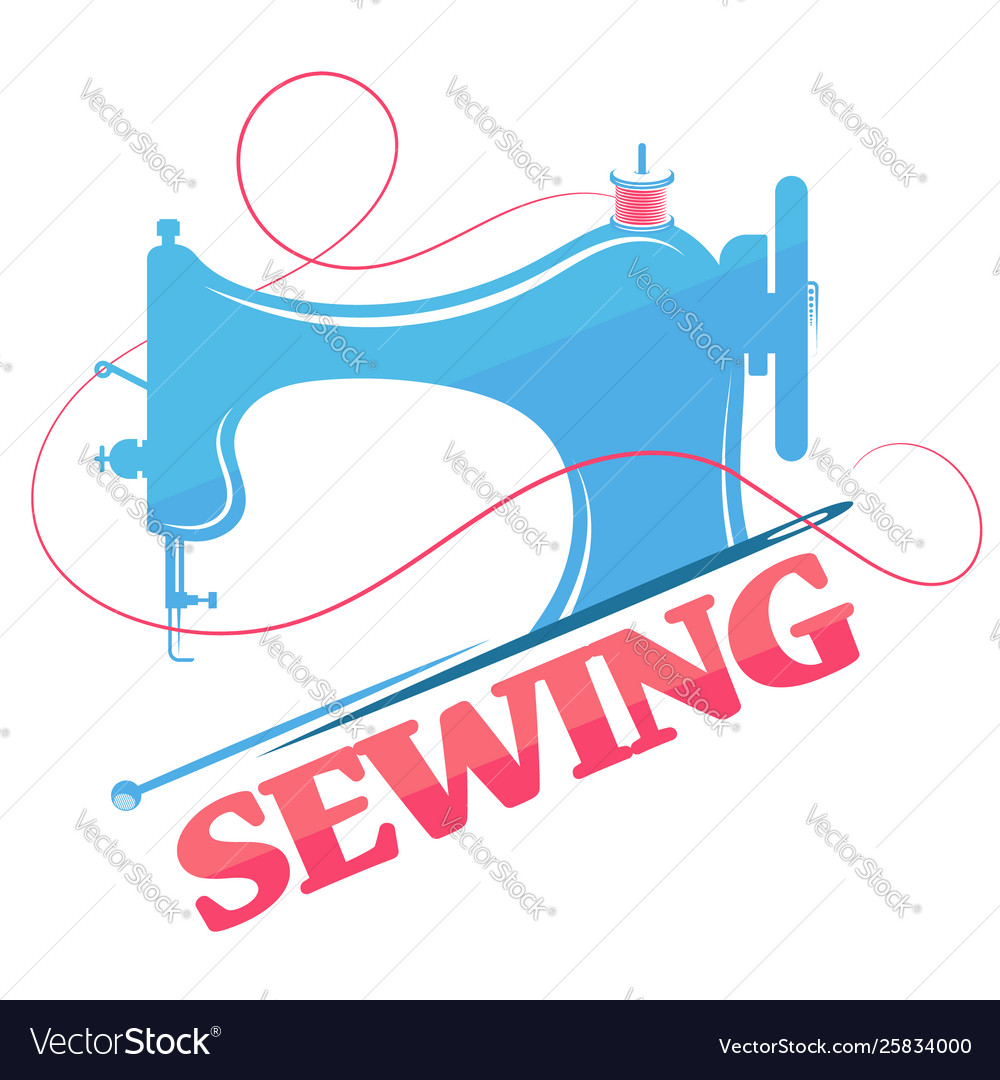Sewing machine and thread silhouette