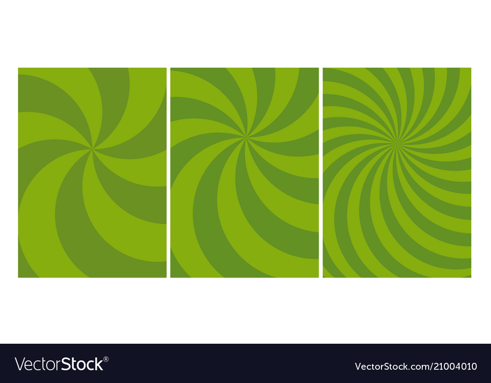 Abstract spinning dynamic cover template