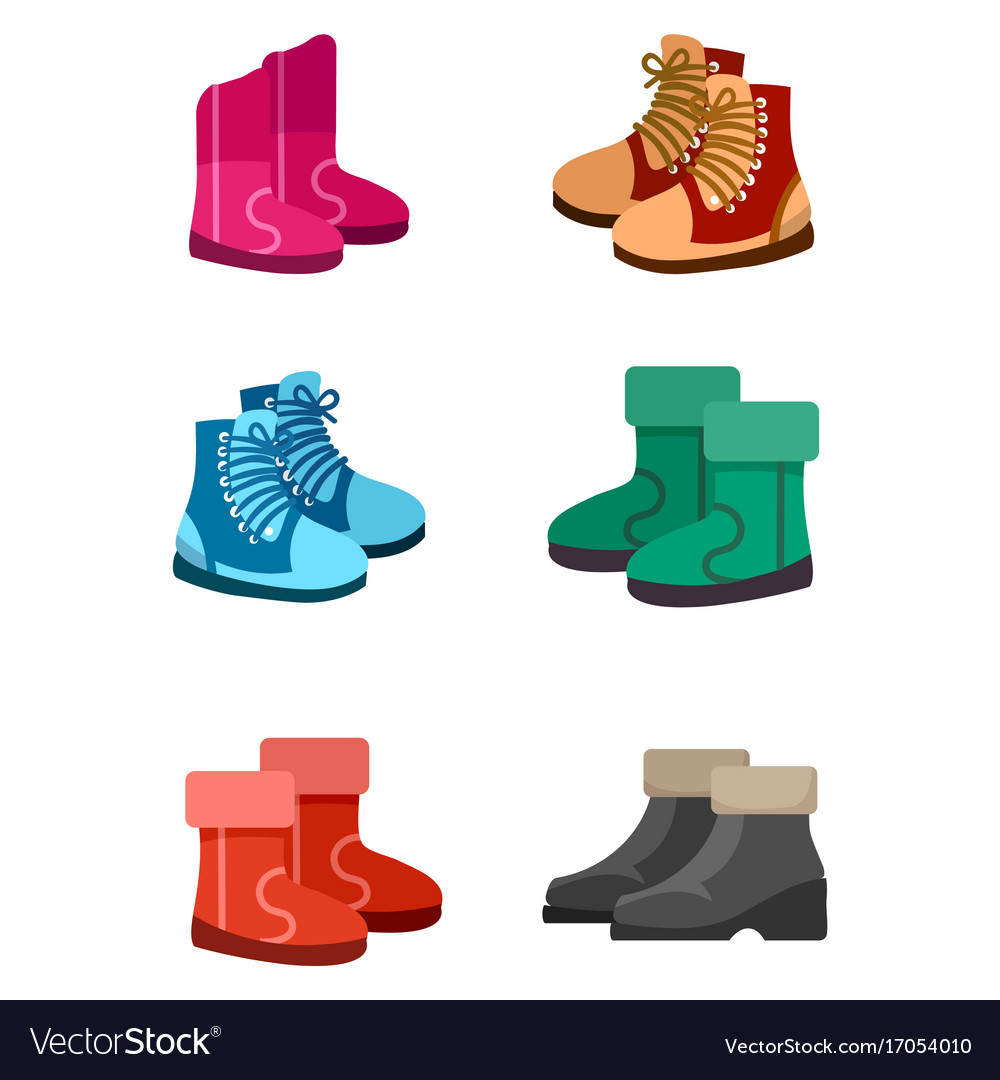 Autumn and winter boots