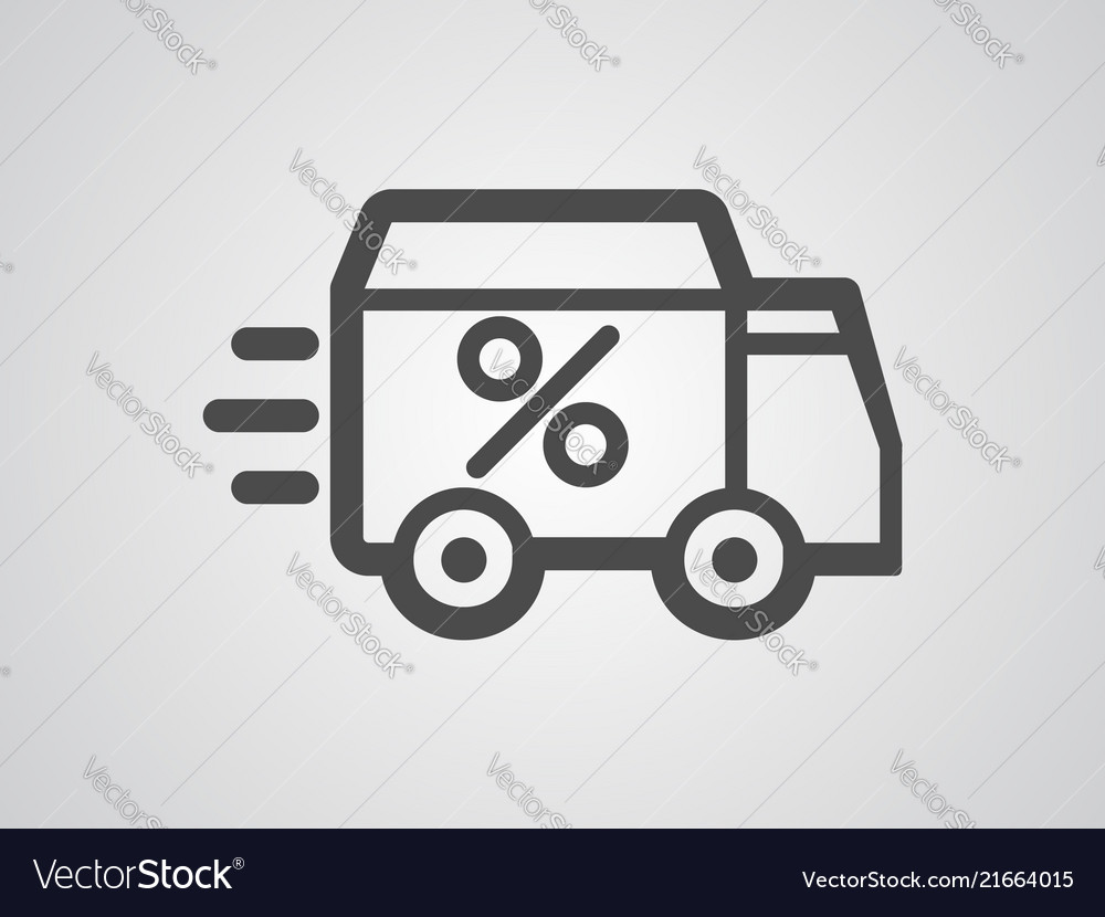 Delivery icon sign symbol