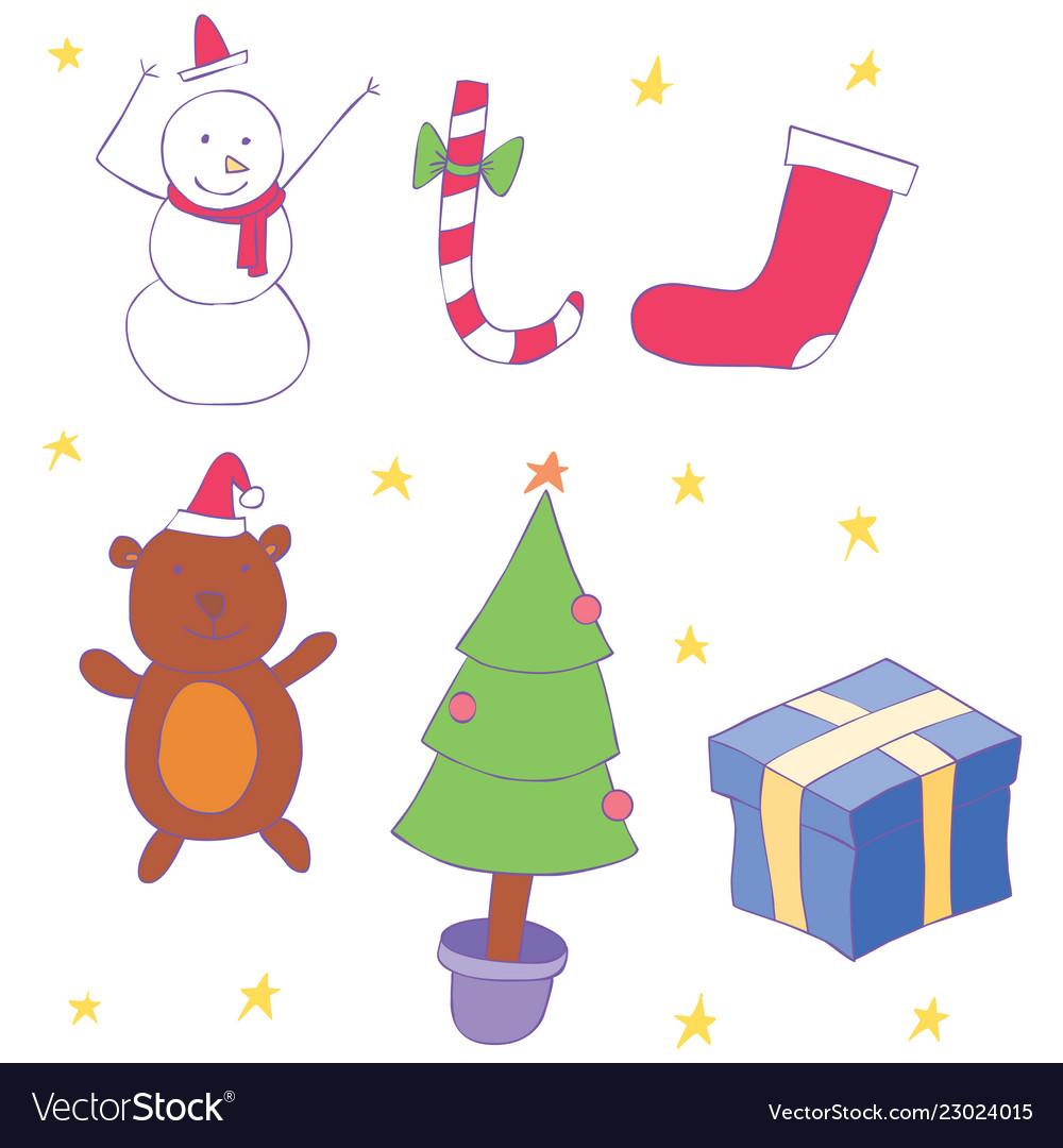 Set stuff on christmas holiday