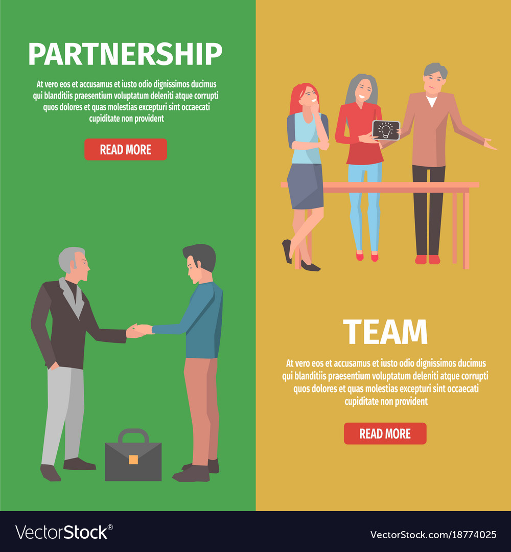 Team and partnership as components of startup
