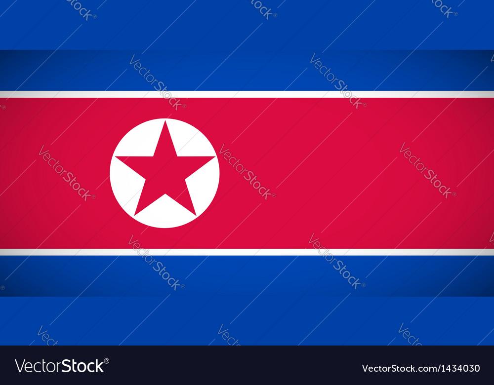 National flag of North Korea