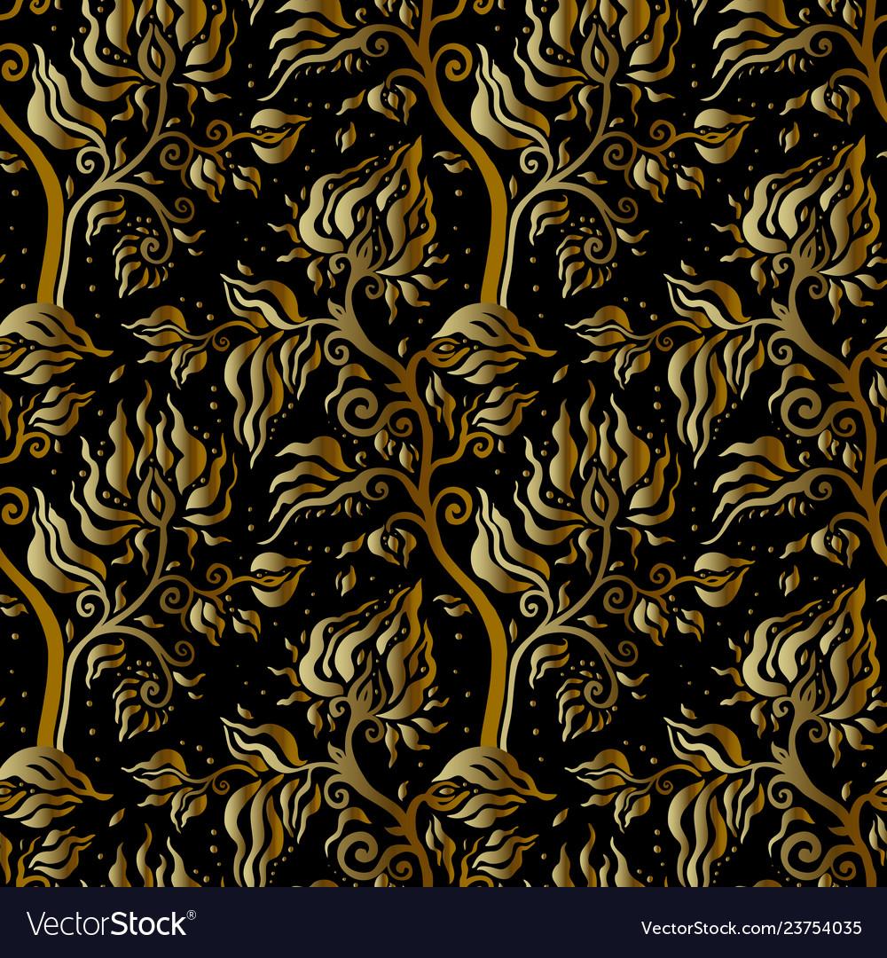 Paisley background vintage seamless pattern