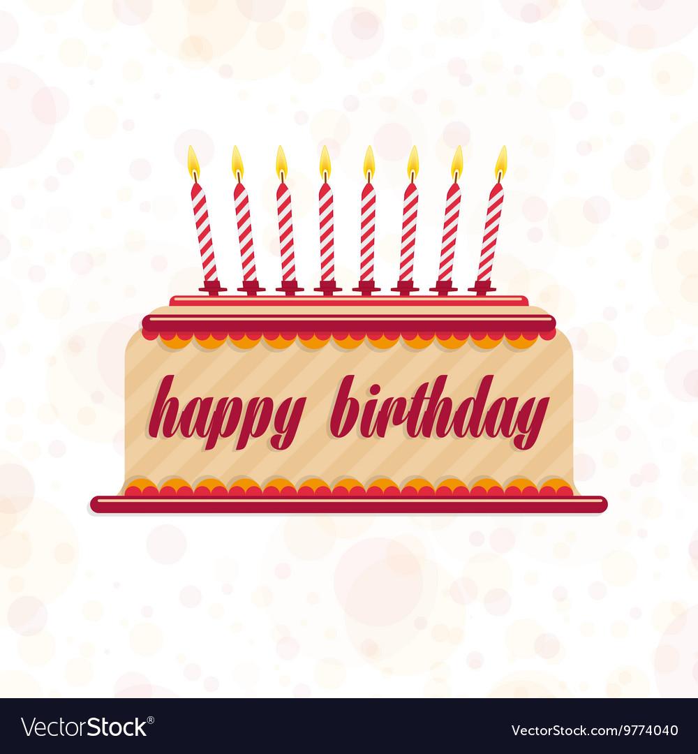 Cake on his birthday