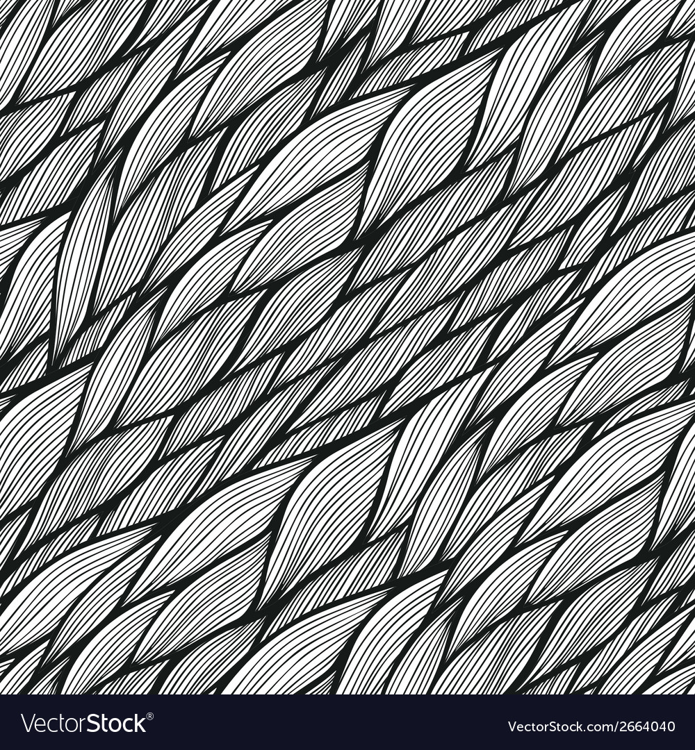 Seamless pattern with abstract waves texture