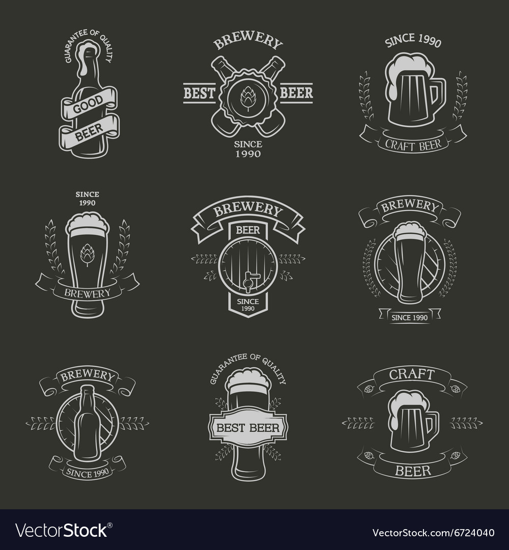 Set brewing emblems