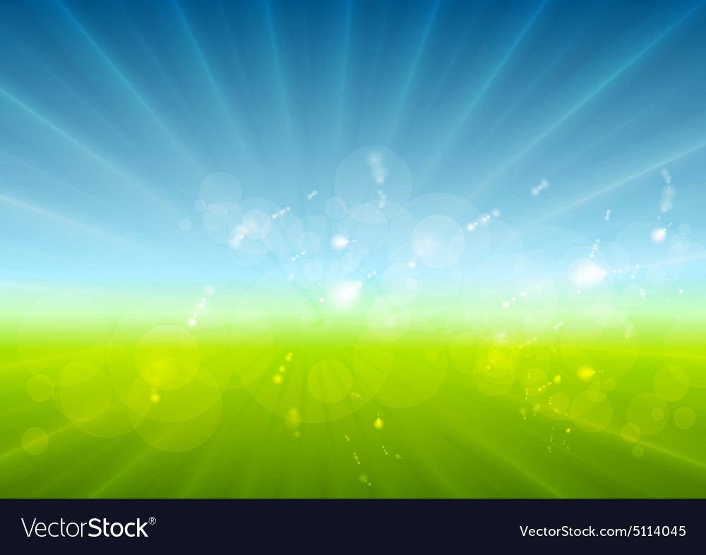 Abstract sunny landscape background