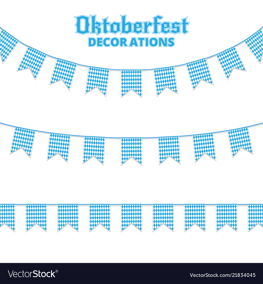 Oktoberfest buntings decorations for oktoberfest