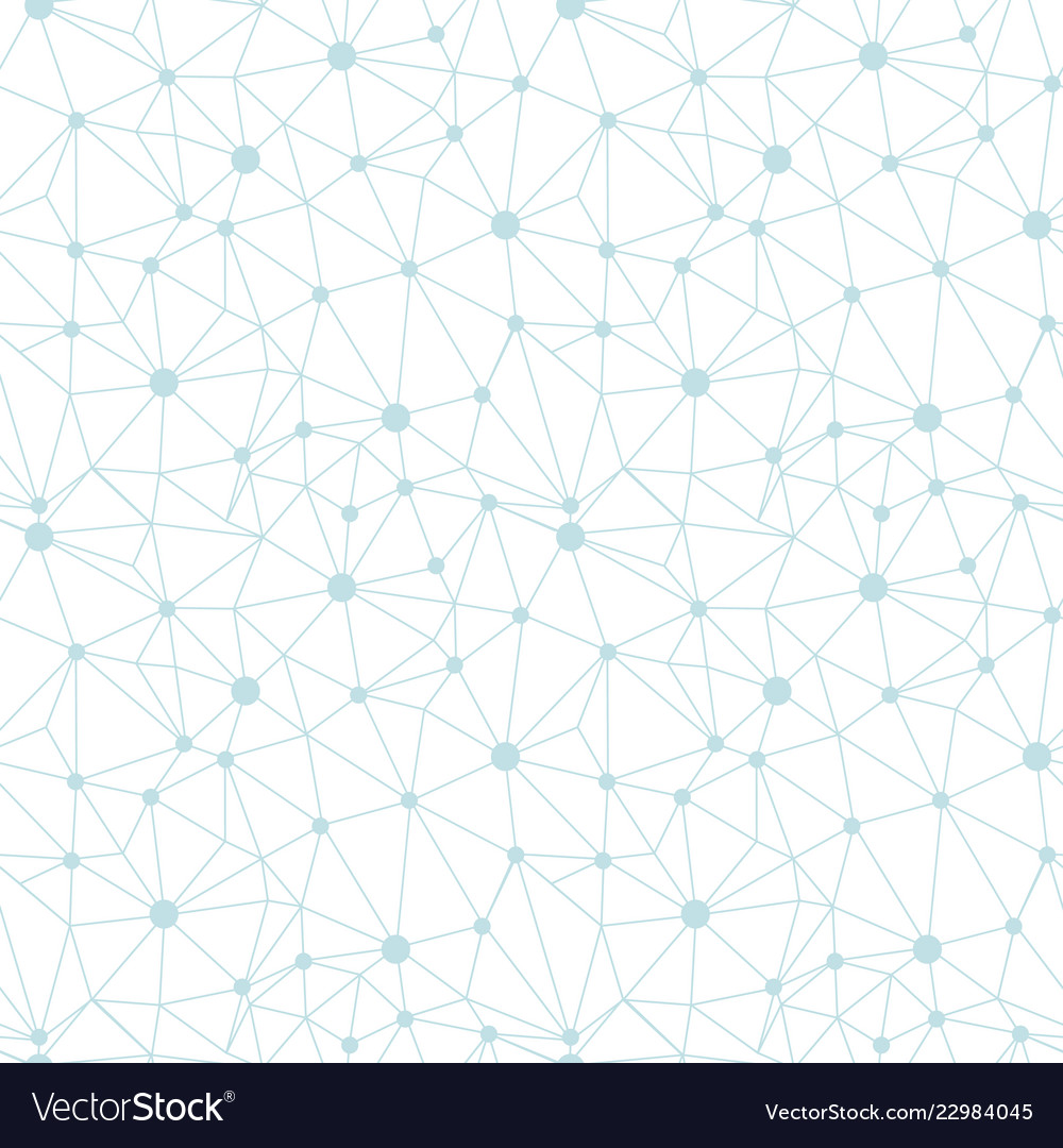 Pastel blue network web texture seamless pattern