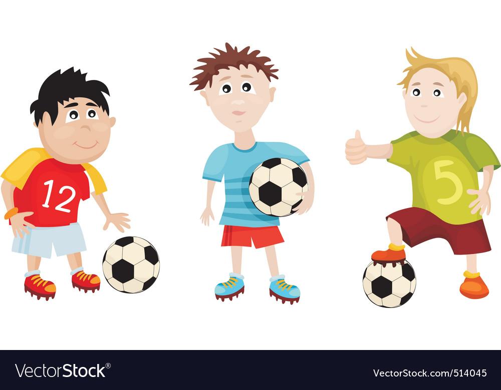 Soccer cartoons