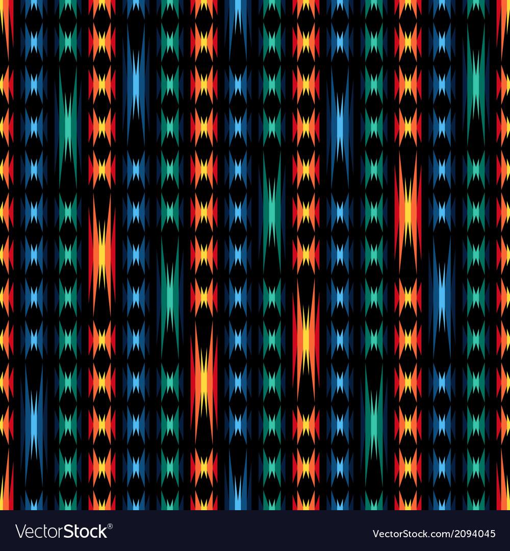 Tribal abstract seamless pattern aztec geometric