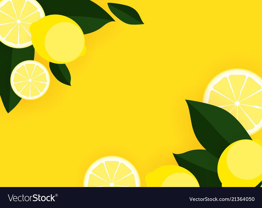 Get Lemon Background