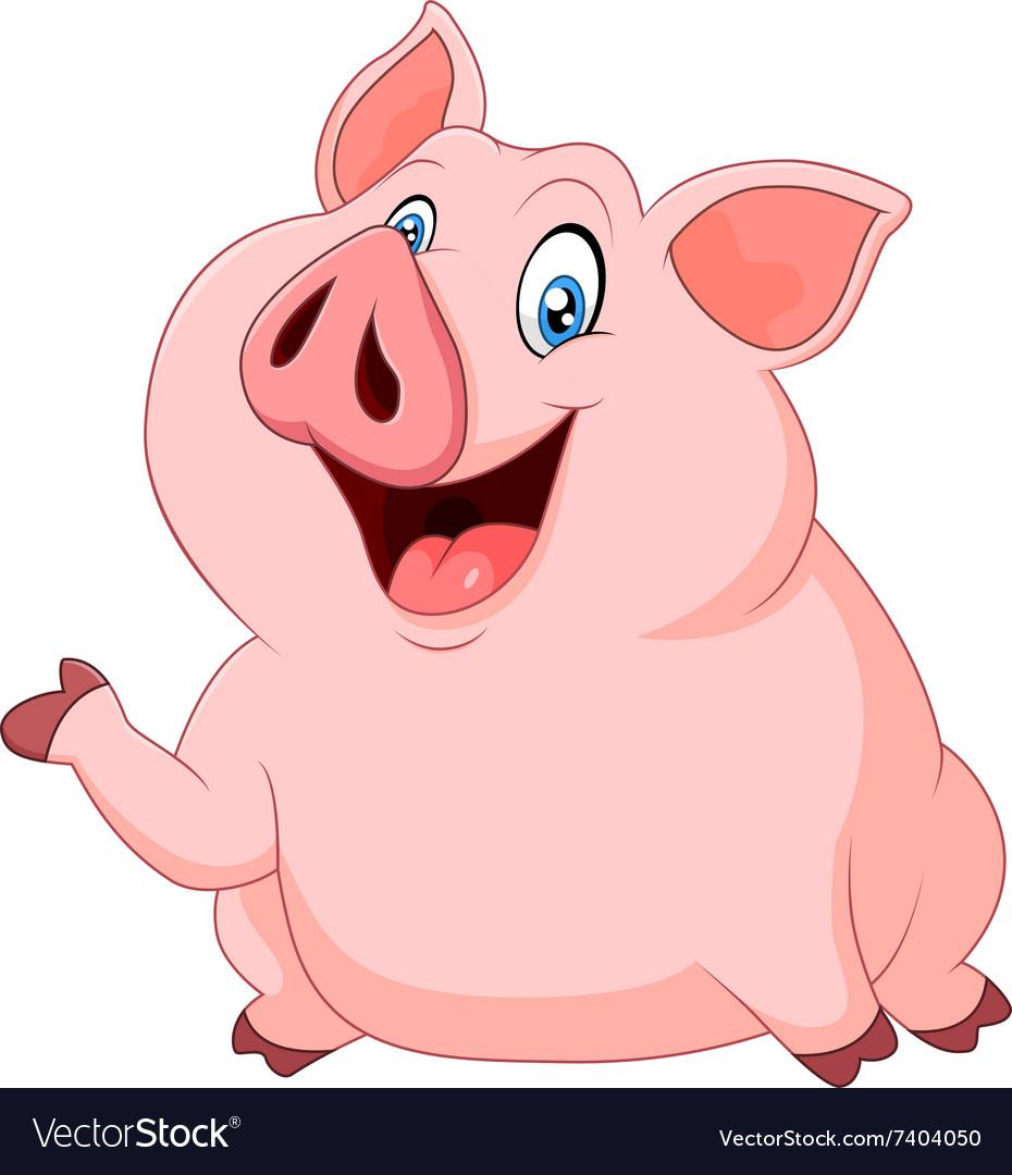 Zeichentrick Schwein