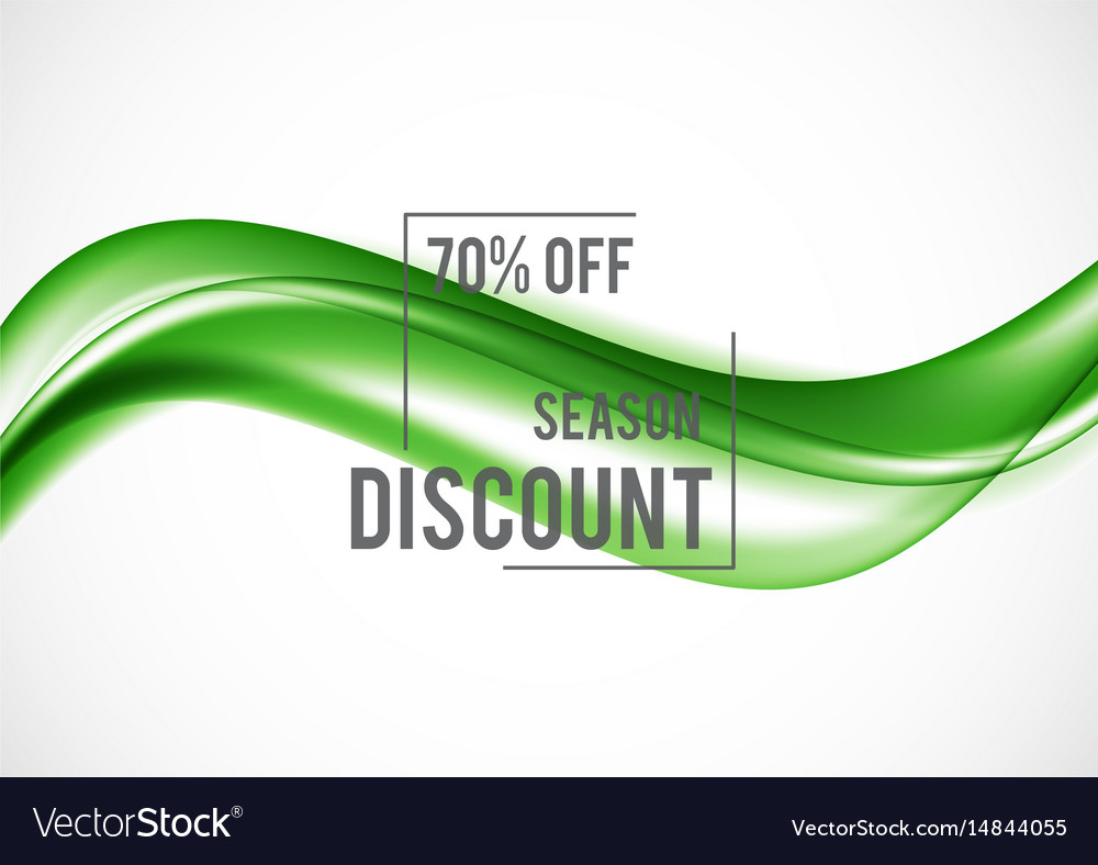 Abstract advertising sale design template