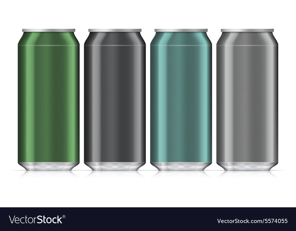 Aluminum Beverage Drink Can Isolated Mock Up