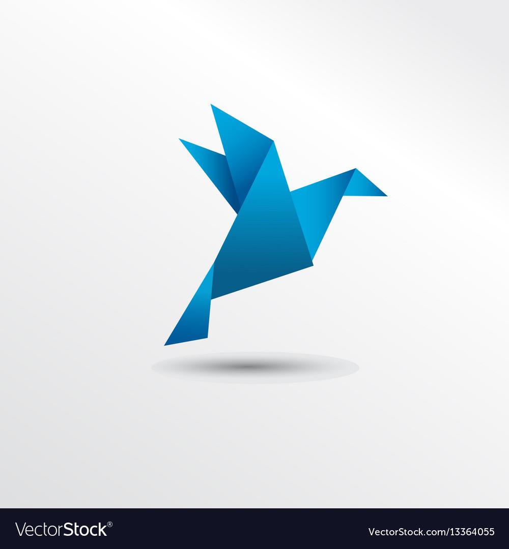 Origami pigueon