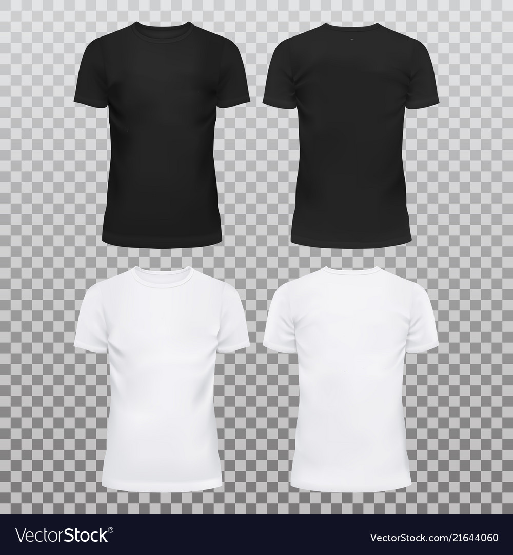 5487f967dcb0 Blank or empty t-shirts for men and women Vector Image