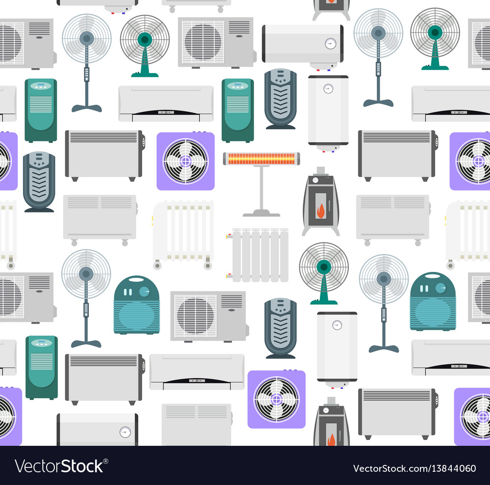 Heating devices background pattern