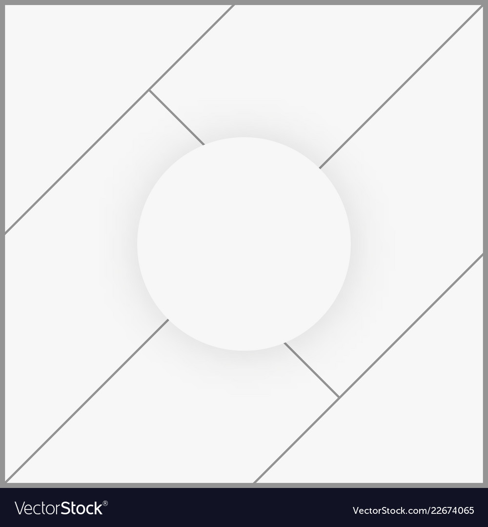 photo frame collage template royalty free vector image