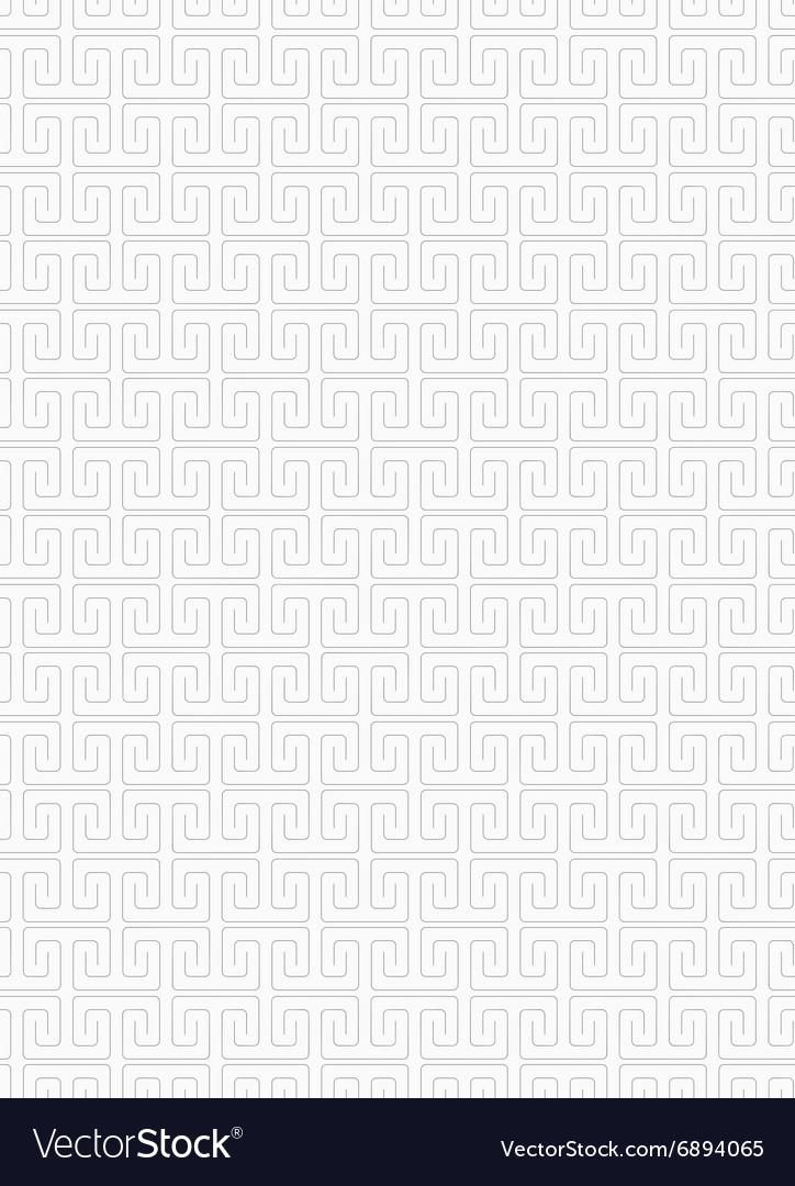 Slim gray square spirals fastened