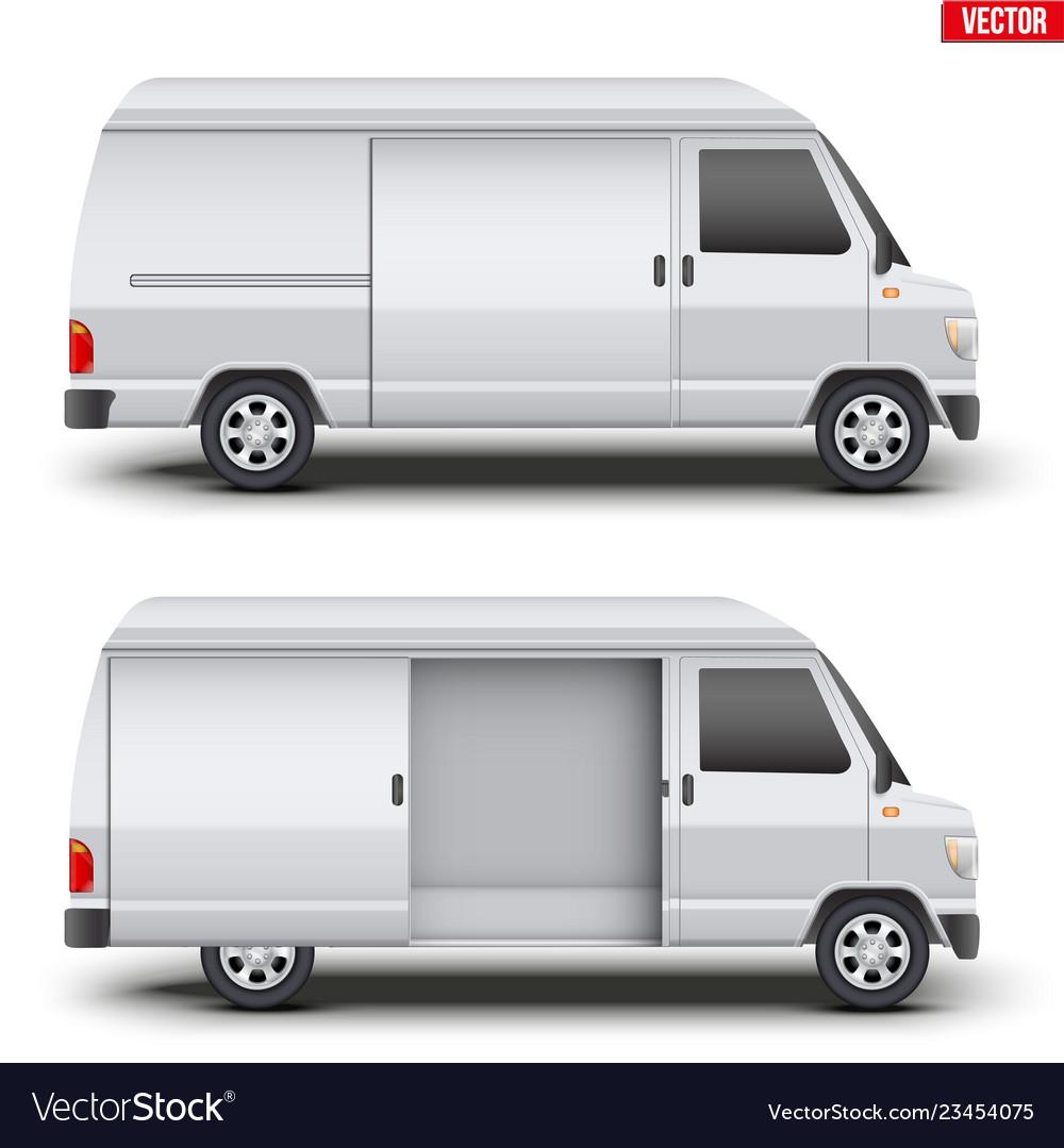 Classic service van minibus