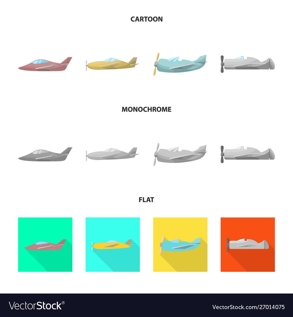 Design travel and airways symbol