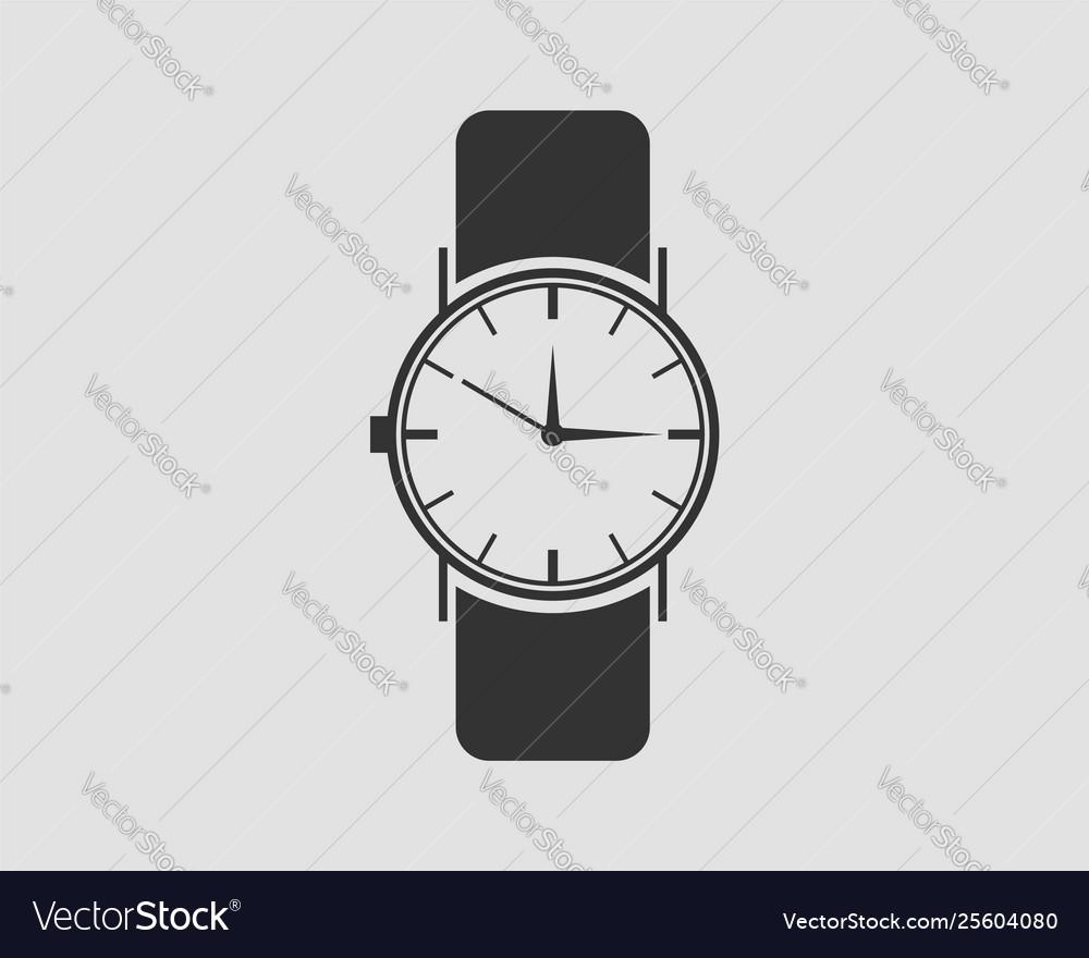 Hand wrist watch icon wristwatch