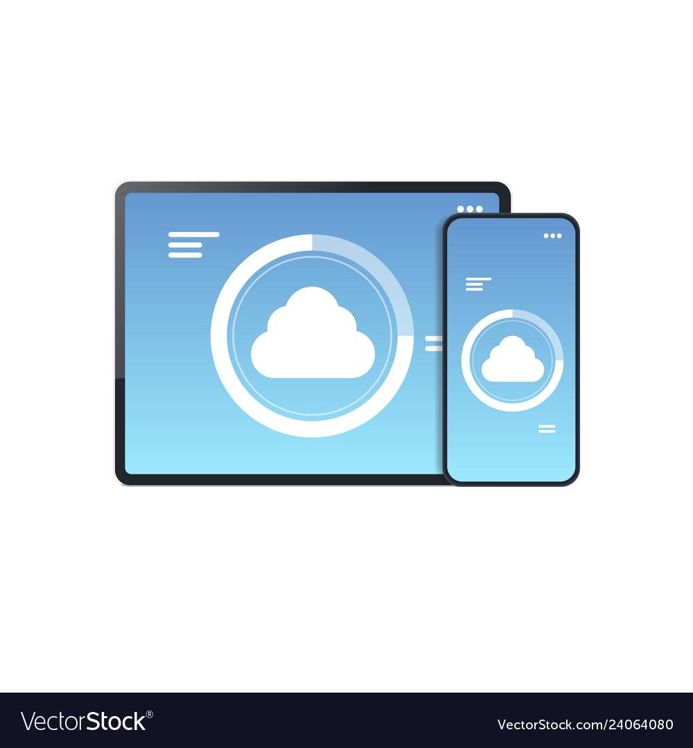 Internet connection mobile application cloud