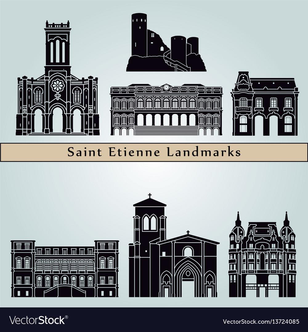 Saint etienne landmarks