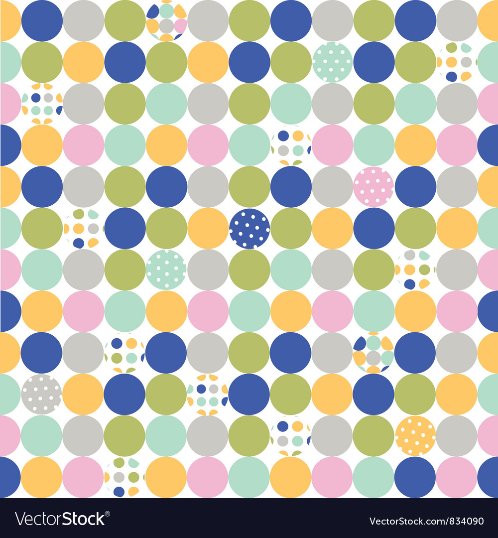 Fabric wallpaper vector