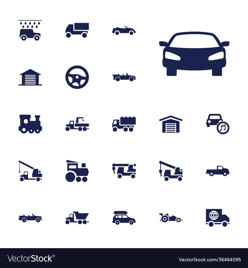 Automobile icons