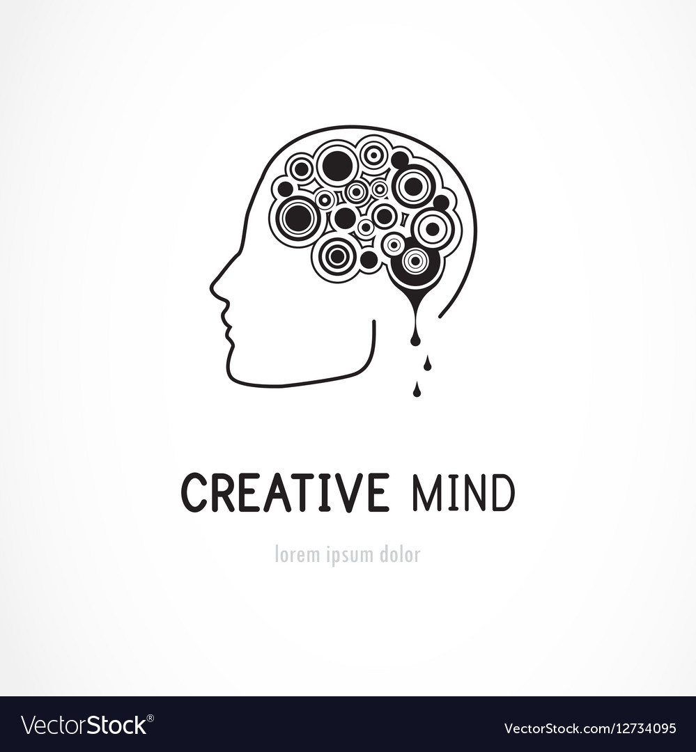 Creative mind business logo template royalty free vector creative mind business logo template vector image friedricerecipe Gallery