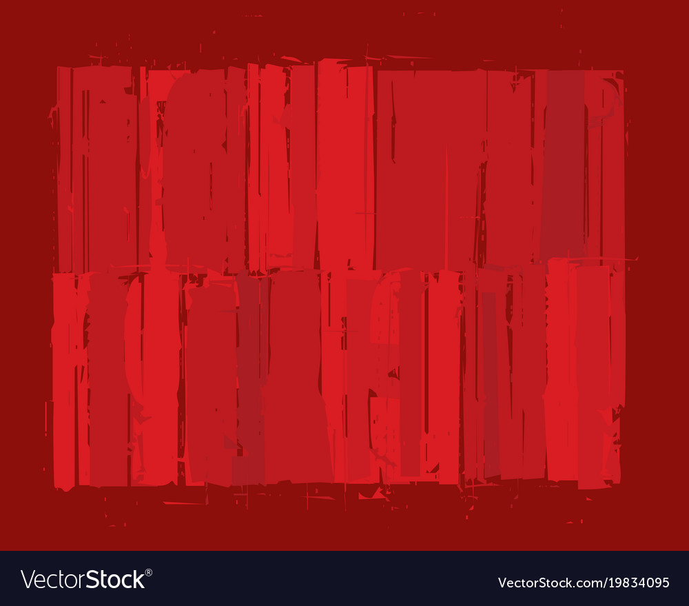 Modern art background - red vector image