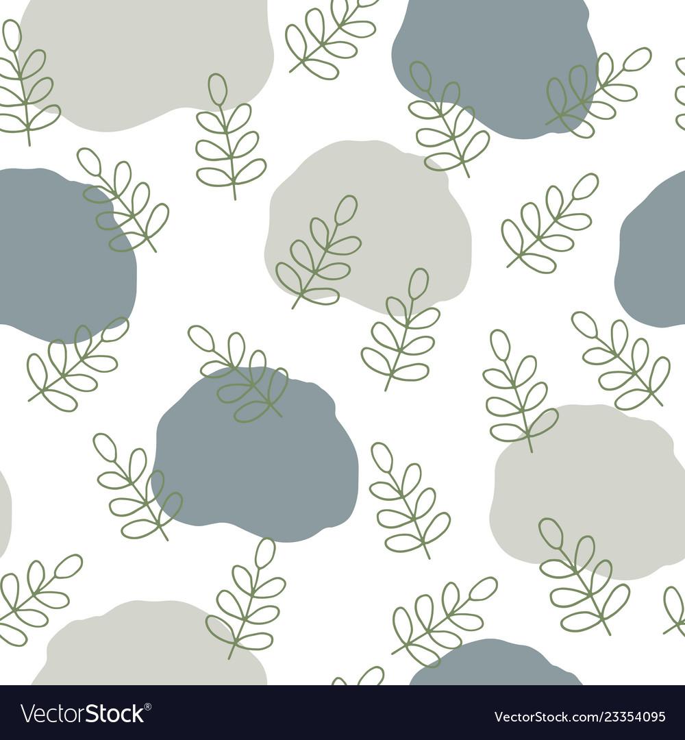 Scandinavian nature pattern design