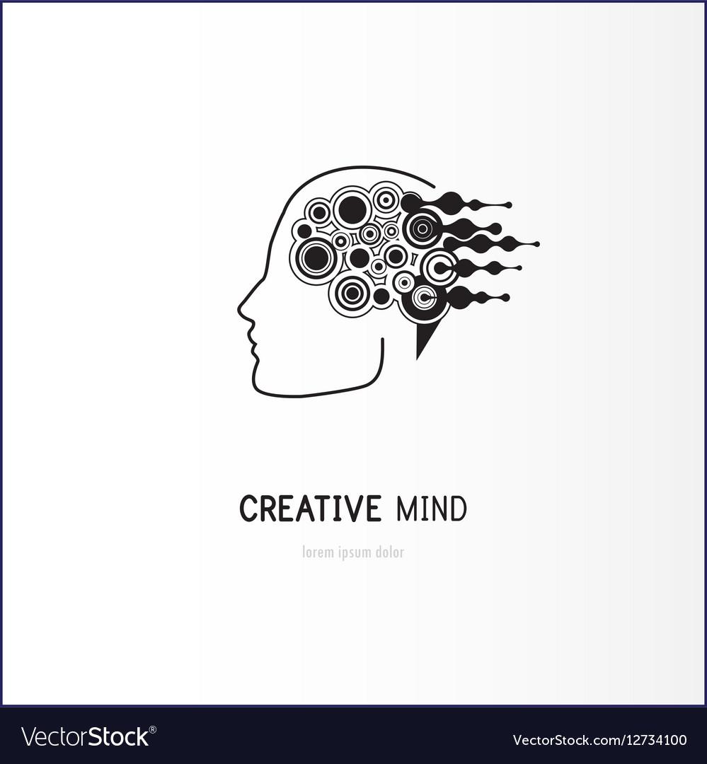 Creative mind - business logo template