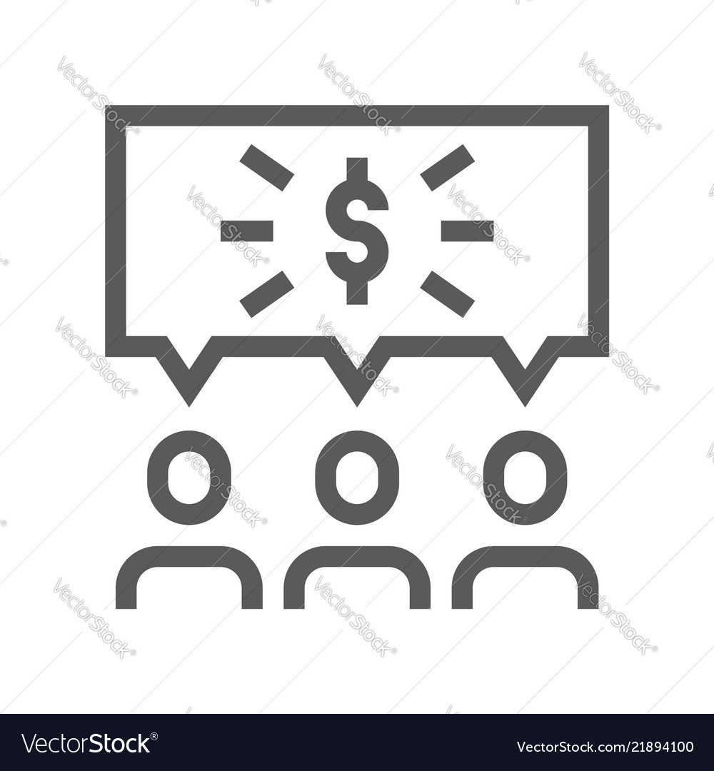 Startup line icon