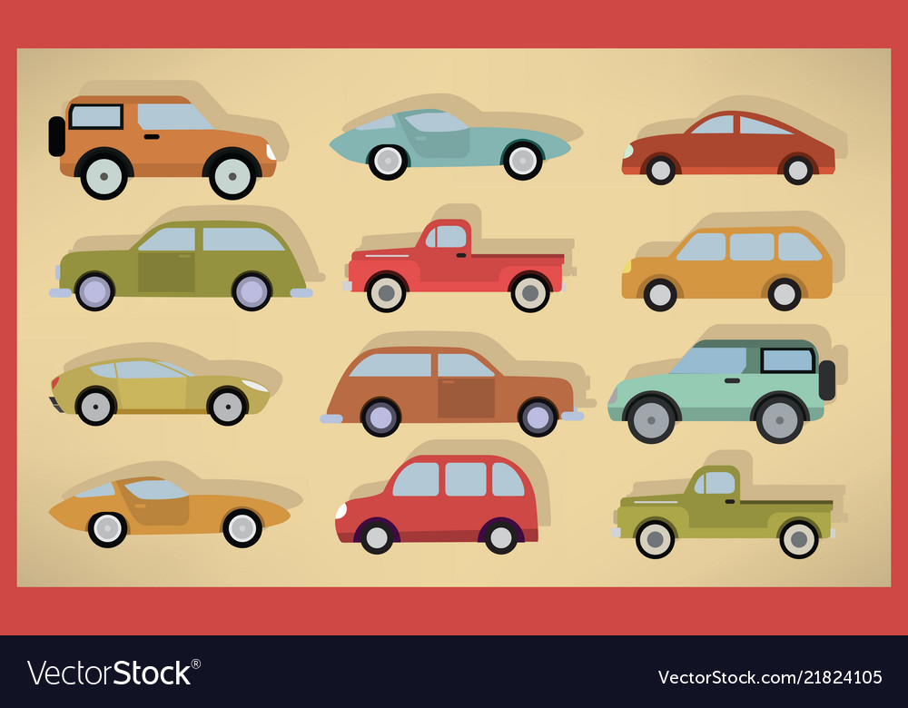 Simple cars collection