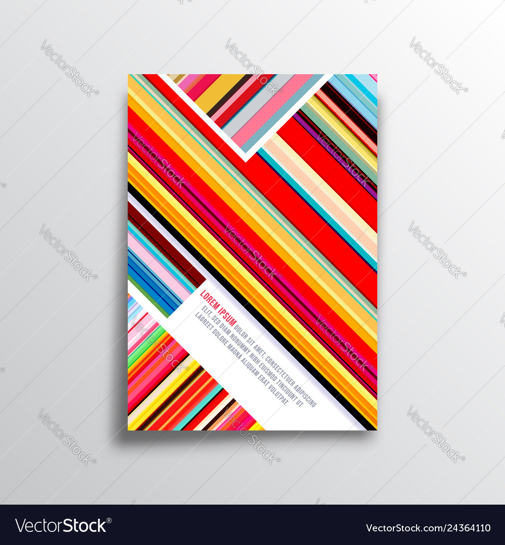 Abstract background with colorful lines for the