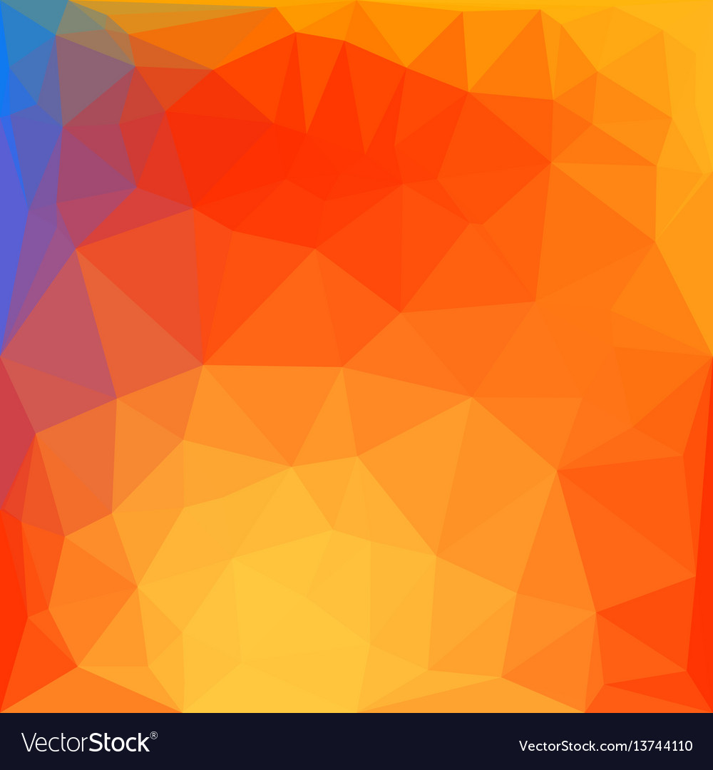 Modern polygonal style bright background