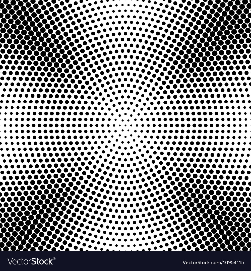 Abstract radial dotted halftone background