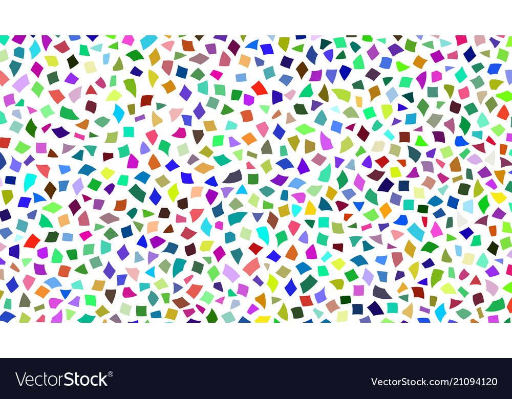 Abstract background of color pieces of paper vector image