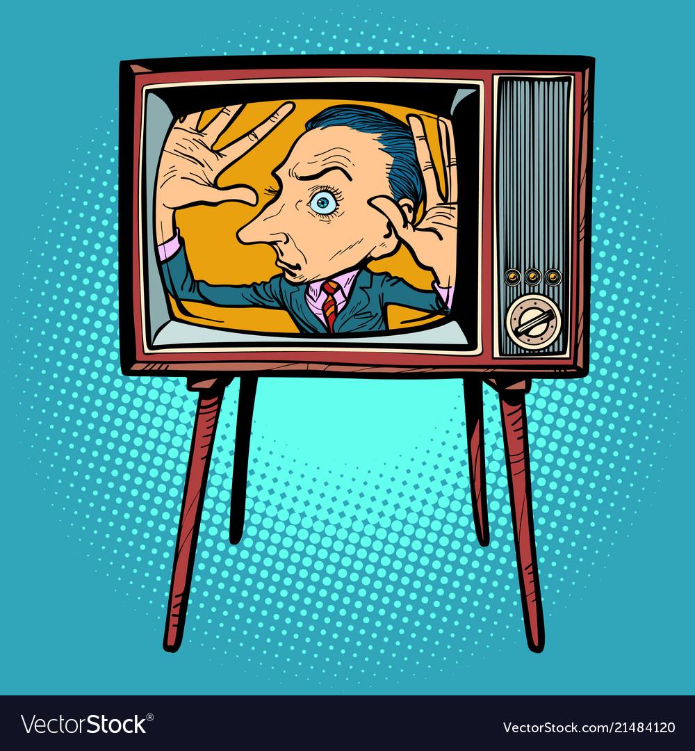 прикольные телевизоры в рисунках чем так