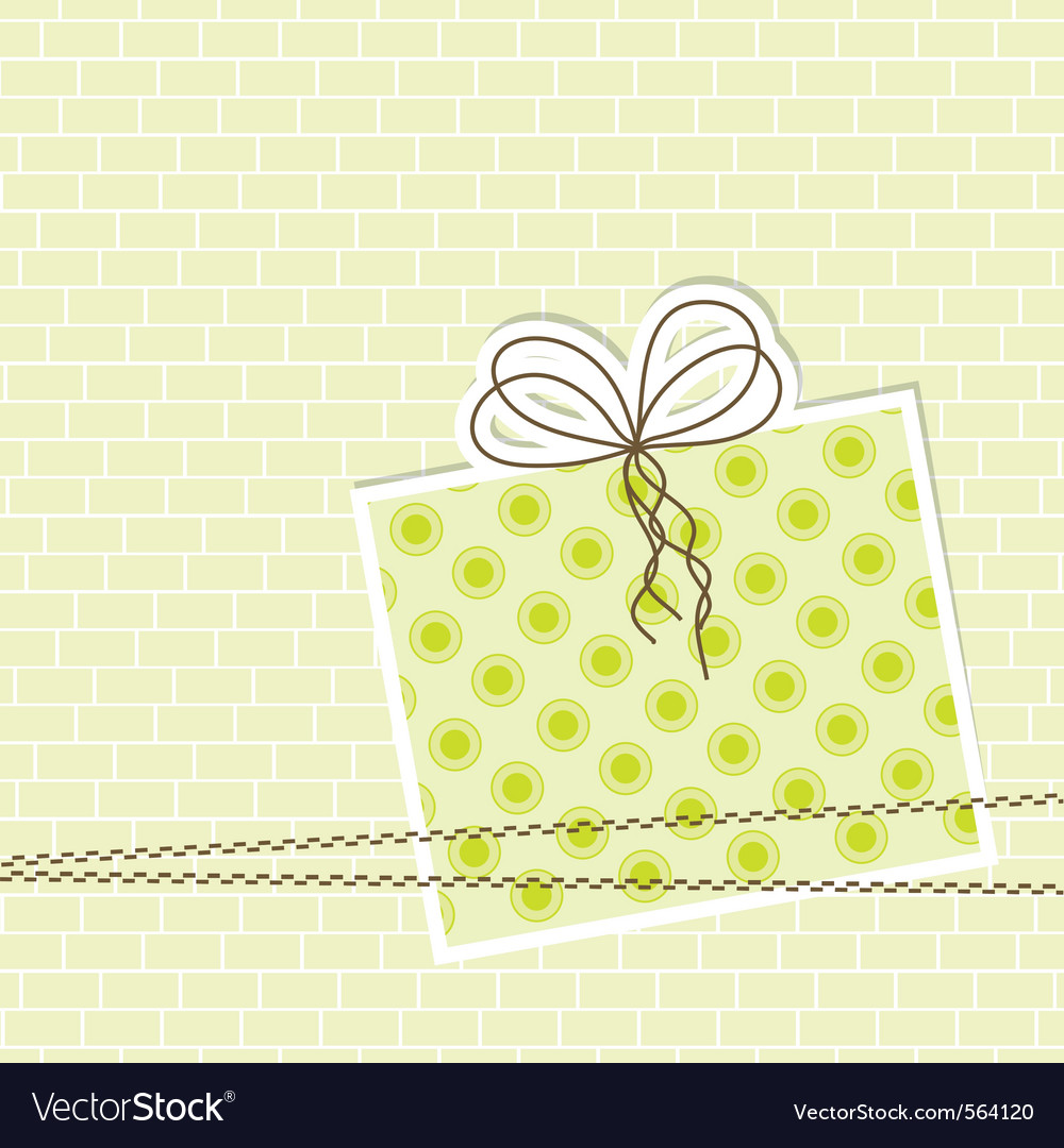 Template greeting card eps10