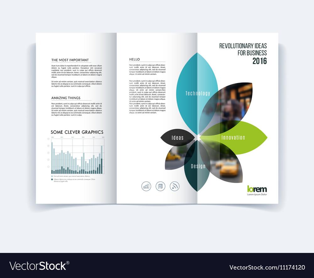 Tri Fold Brochure Template Layout Cover Design